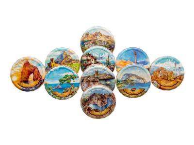 Коллекционные крышки «НАШ КРЫМ» «Москвичка» в сувенирном наборе