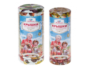 Крышки  твист офф III-66  «Москвичка» в столбике (ТО-66)